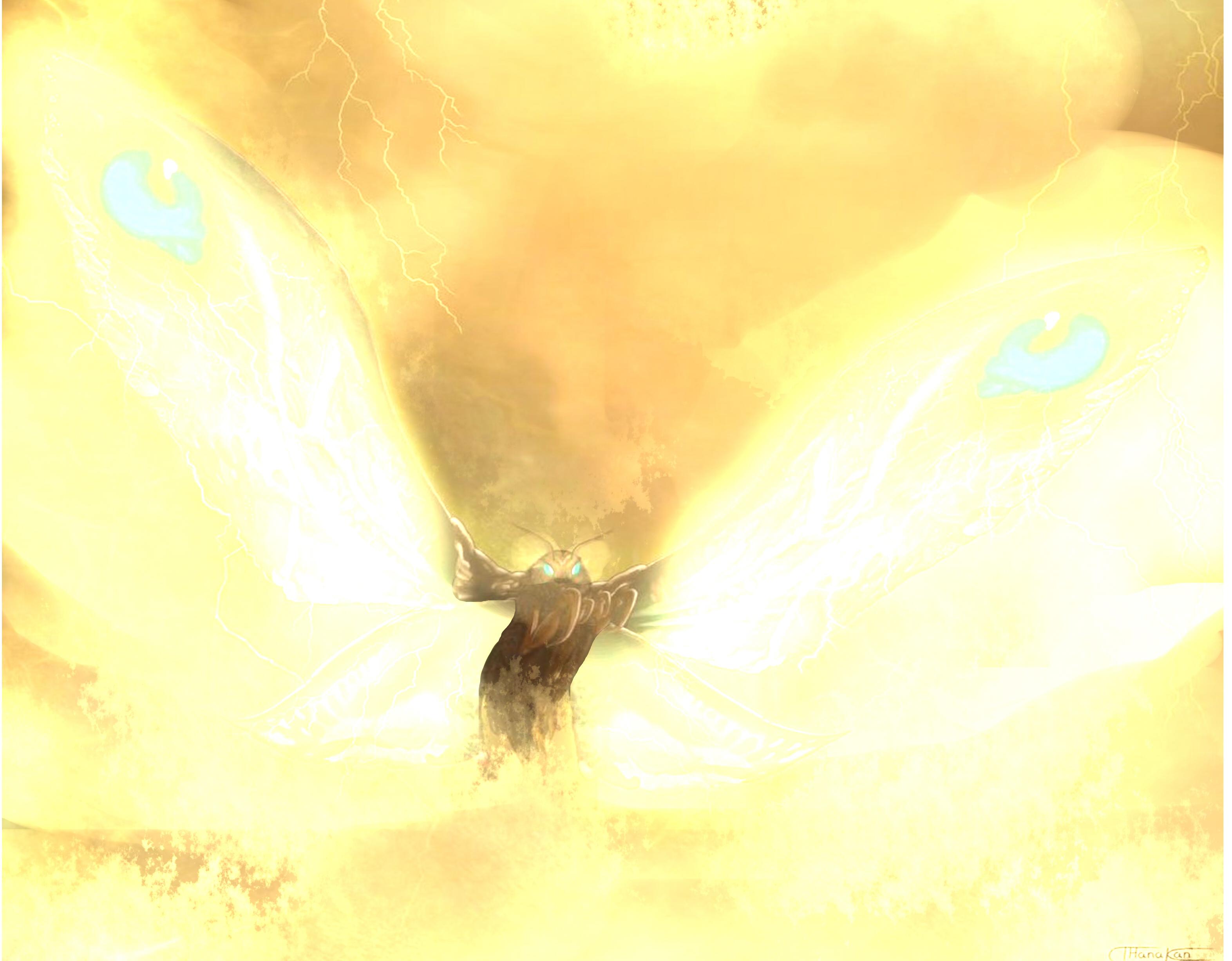 Una visita  inesperada:Cielos dorados