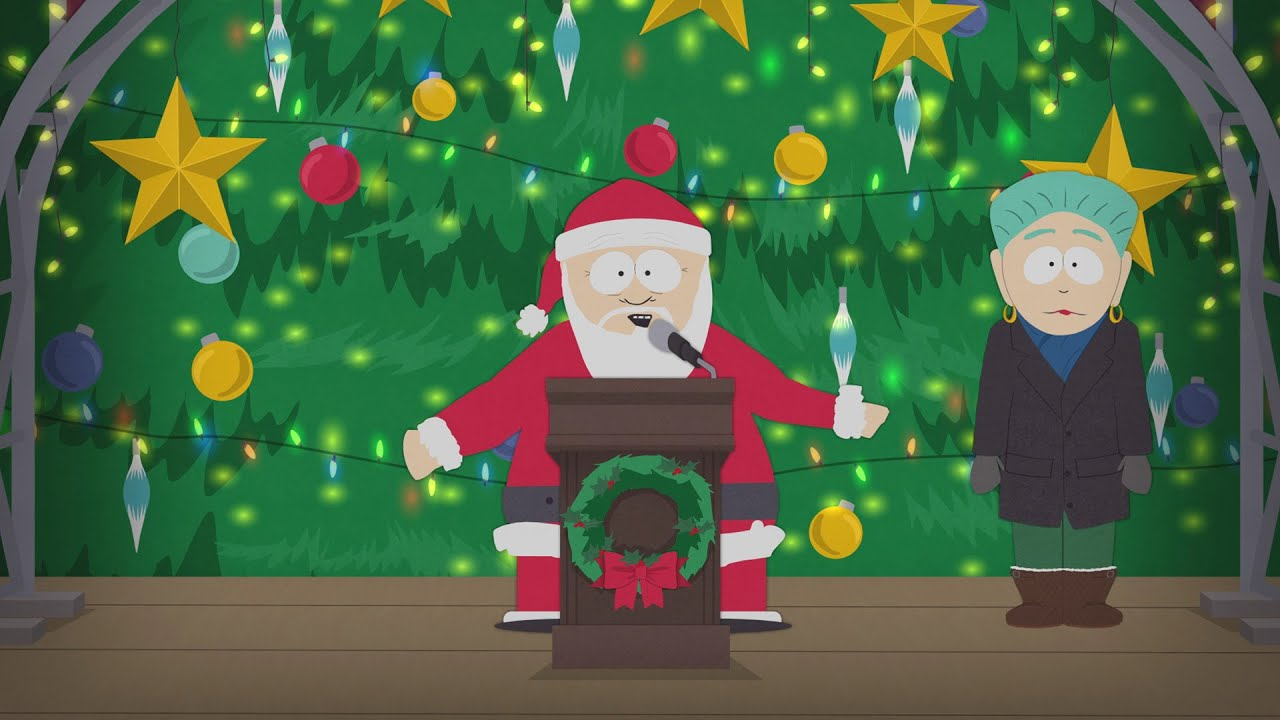Santa Is a Buzzkill - South Park