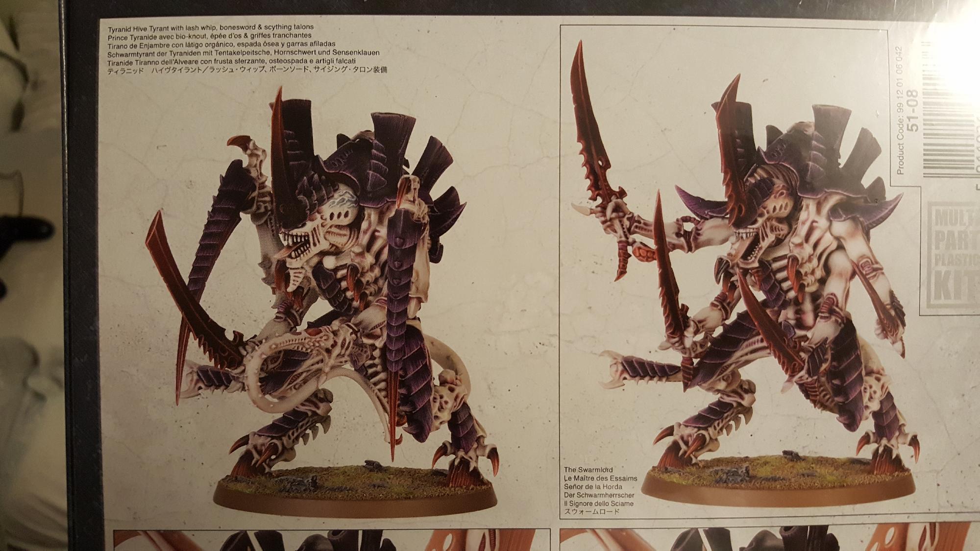 Warhammer 40K Tyranids Hive Tyrant Swarmlord