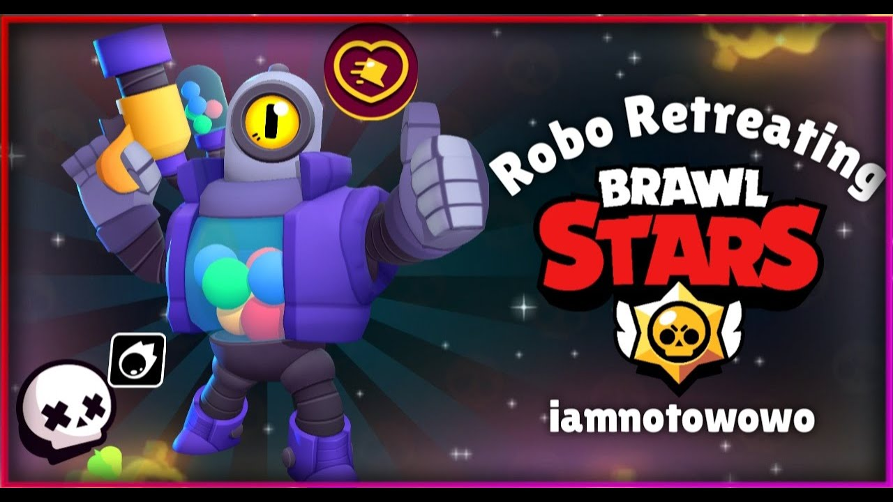 Getting ROBO RETREAT + Trying it Out!!!   Brawl Stars