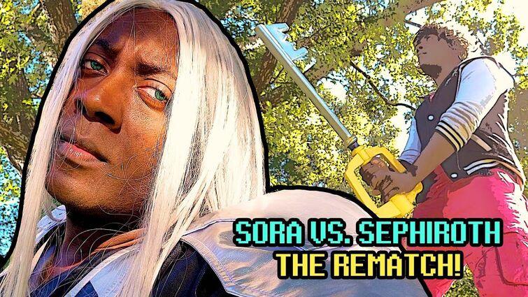 SORA VS. SEPHIROTH: REMATCH! 👑 ( Super Smash Bros Ultimate )