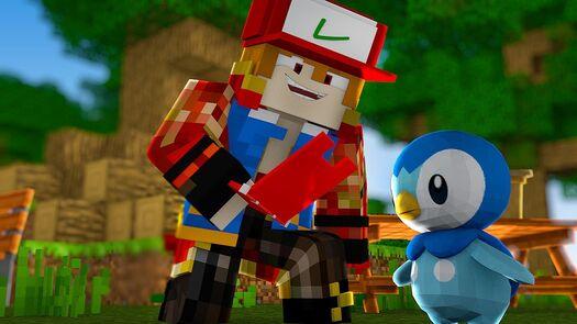 Minecraft : Pokedex #1 - INICIAL ‹ MayconLorenz ›