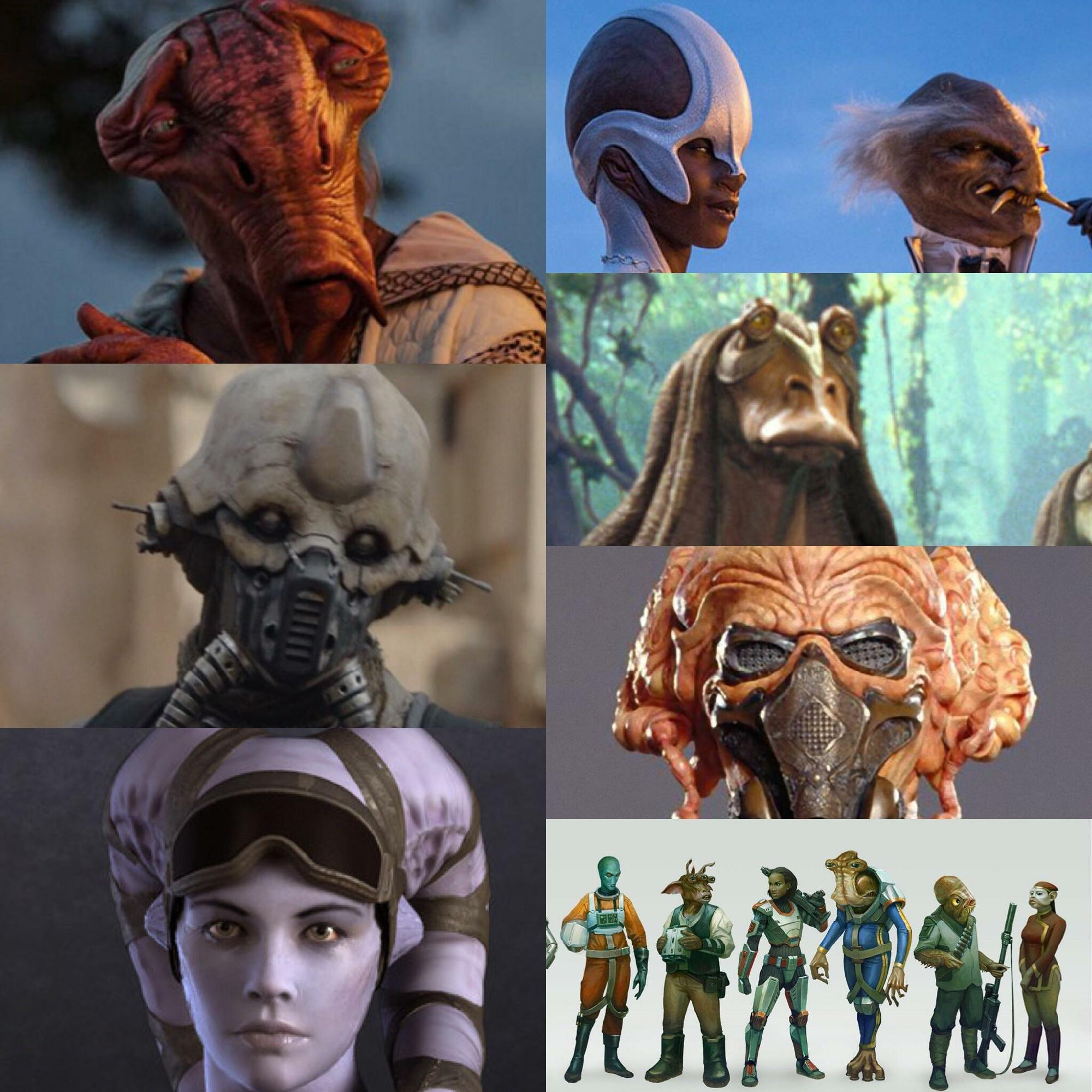 What Are The Most Powerful Alien Species Of Star Wars Fandom