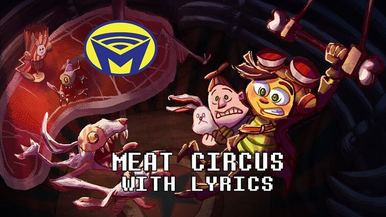 Psychonauts - Meat Circus - With Lyrics by Man on the Internet