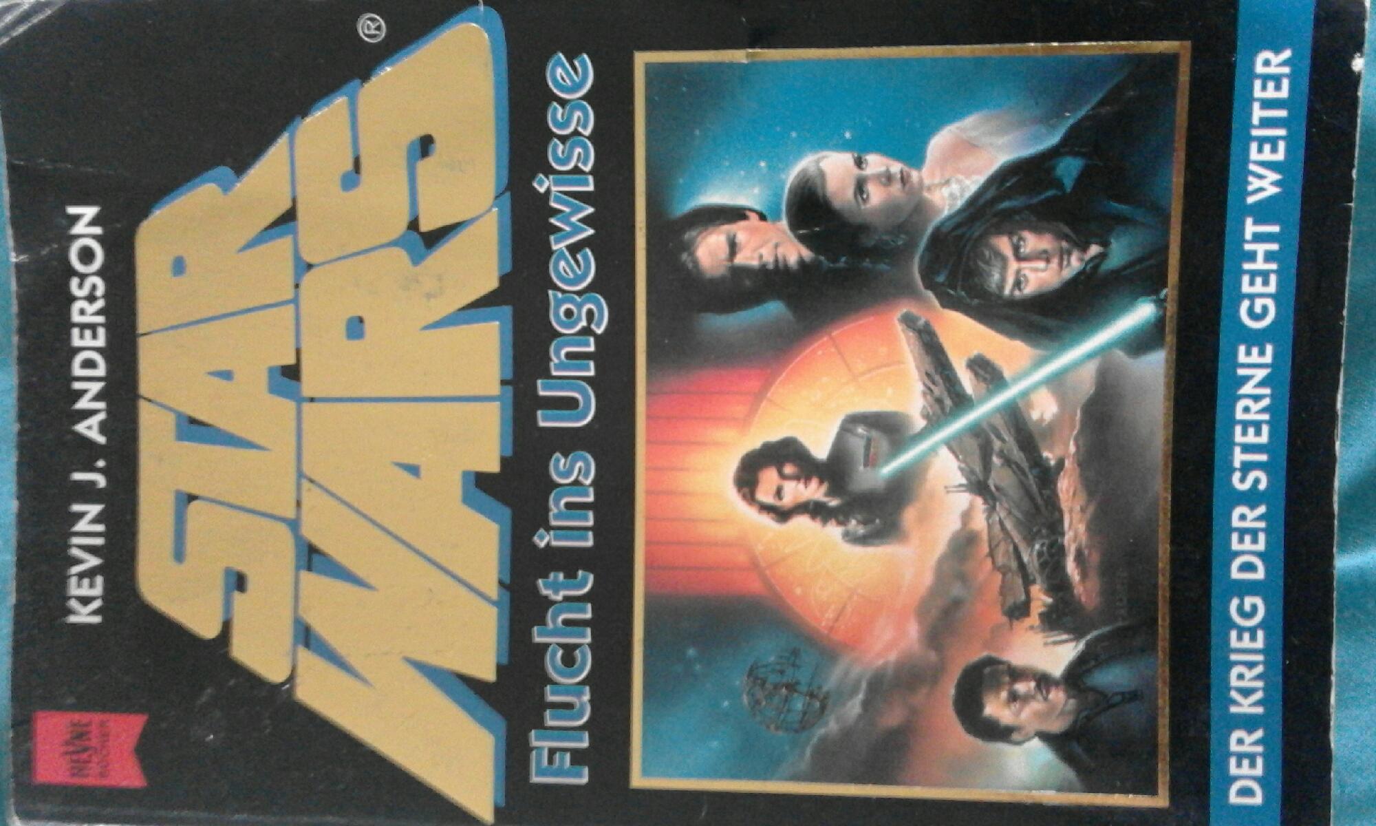 DURCHGELESEN! Buchrezension zum ersten Buch der Jedi-Akademie Trilogie