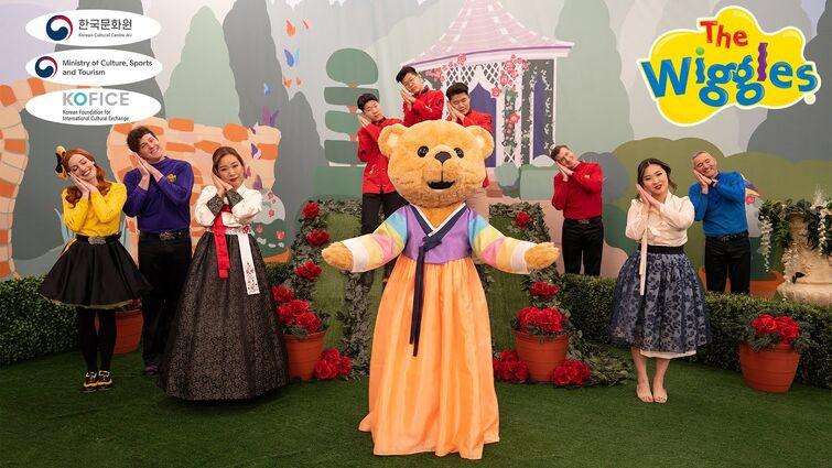 The Wiggles and Korean Cultural Centre: Episode 1 Hello, friends in Korea!