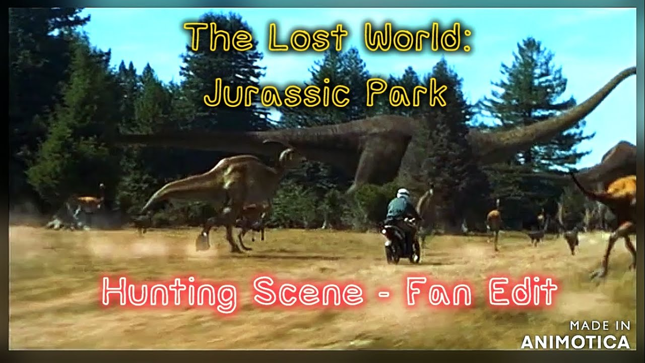 """""""The Lost World: Jurassic Park"""" Hunting Sequence FAN EDIT"""