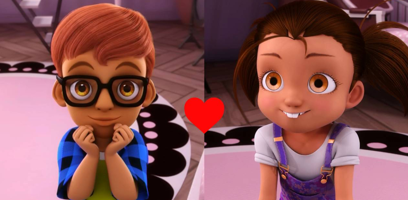 Do you ship these 2 in miraculous ladybug? Probably as adults?