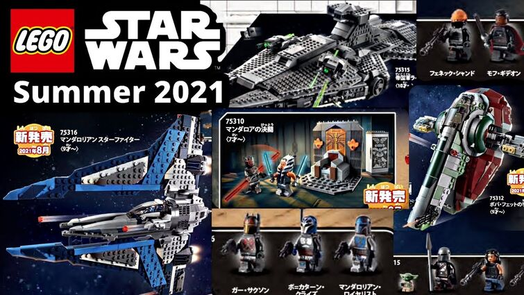 LEGO Star Wars Summer 2021 sets pictures! GREAT wave, MOSTLY Mando!