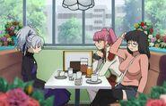 S1E13 Kiko Kayanuma, Mayuko dine with Yin
