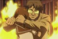 S1E4 Tahara tries to kill Mai