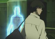 S1E1 Jean uses power to appear beside Hei