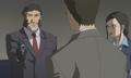 S1E25 Yoshimitsu Horai kills Eric Nishijima, Misaki Kirhara watches