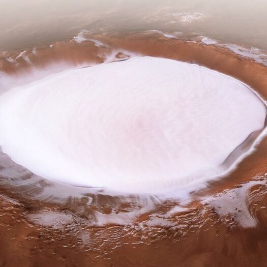 Mars orbiter sends a picture-perfect postcard back to Earth