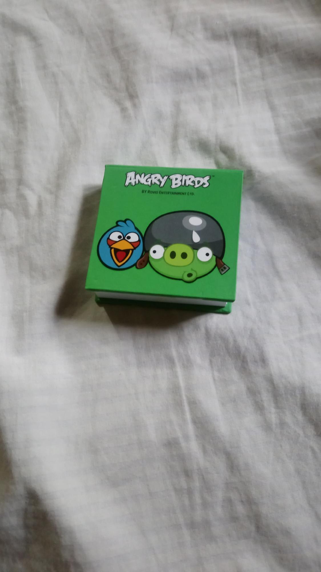 Miren mi librito de Angry Birds