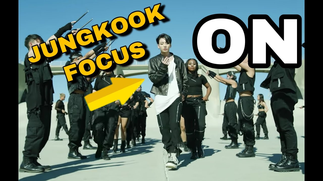 Focus Jungkook in 'ON' Kinetic Manifesto Film