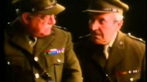 "Cadbury's Wispa - ""Dad's Army"" Arthur Lowe and John Le Mesurier Advert"