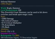 Infernal Hammer