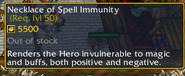 Necklace of Spell Immunity