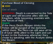 Blood of Clensing