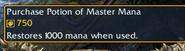 Potion of Master Mana