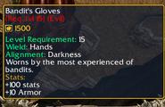 Bandit's Gloves