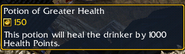 Potion of Greater Health