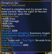 Almighty's Set