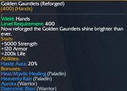 Golden Gauntlets (reforged)