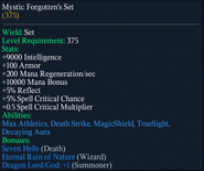 Mystic Forgotten's Set