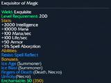 Exquisitor of Magic