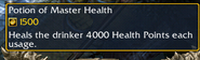 Potion of Master Health