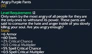 Angry Purple Pants