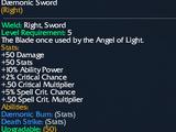 Daemonic Sword