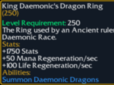 King Daemonic's Dragon Ring