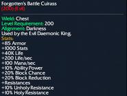 Forgotten's Battle Cuirass