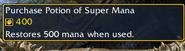 Potion of Super Mana