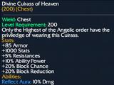 Divine Cuirass of Heaven