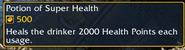 Potion of Super Health