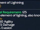 Element of Lightning