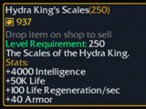 Hydra King's Scales