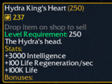 Hydra King's Heart