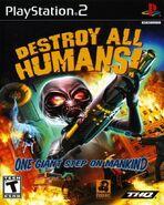 Caratula Destroy All Humans! PS2