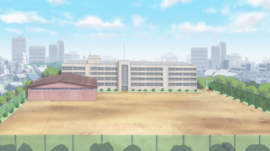Central High as seen in the anime