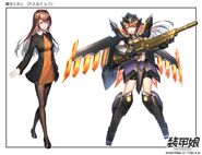 Armored Girls Orion