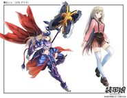Armored Girls Zenon