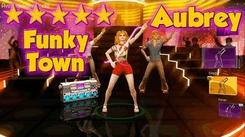 Dance Central 3 - Funky Town - Hard 100% - 5* Gold Stars (DC1 IMPORT)