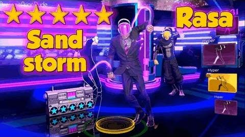 Dance Central 3 - Sandstorm - Hard 100% - 5* Gold Stars (DC2 IMPORT)