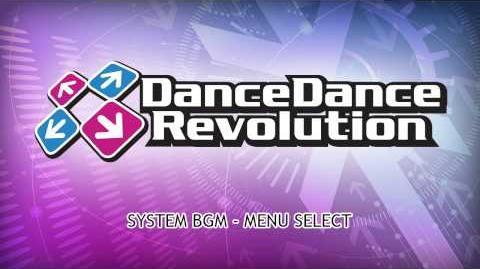 DanceDanceRevolution_2013_AC_BGM_-_Menu_&_Style_Select