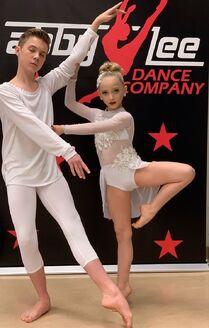812 Brady and Lilliana duet costumes
